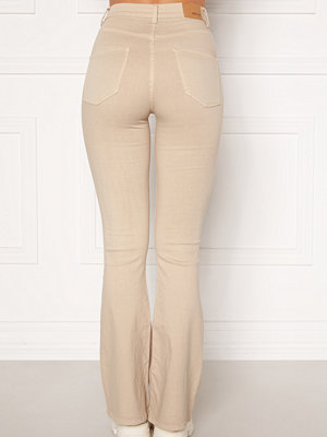 Bubbleroom Tove high waist flared superstretch