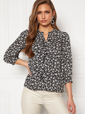 Happy Holly Isabella blouse Black / Patterned