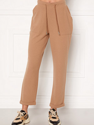 Bubbleroom beige byxor Juno supersoft trousers