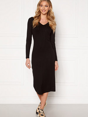 Happy Holly Estella rib mid dress