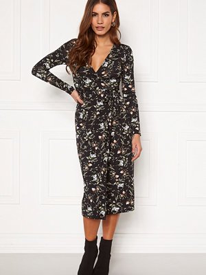 Chiara Forthi Sonnet wrap midi dress