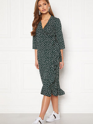 Vero Moda Henna 3/4 Wrap Calf Dress