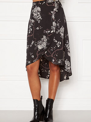 Chiara Forthi Nadia wrap skirt Black / Patterned