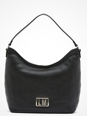 Love Moschino svart shopper Love Moschino Matal Logo Bag 000 Black