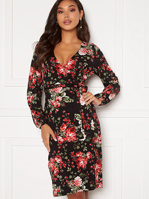 Happy Holly Amanda puff sleeve dress