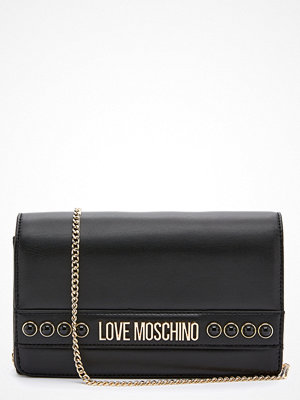 Love Moschino svart axelväska Evening Bag 000 Black