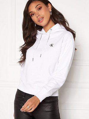 Calvin Klein Jeans CK Embroidery Hoodie YAF Bright White