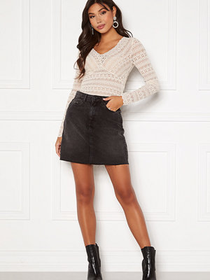 Vero Moda Mikky Raw Denim Skirt
