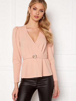Chiara Forthi Cornelle buckle top Pink