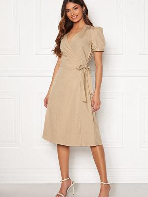 Vila Sille S/S Wrap Midi Dress