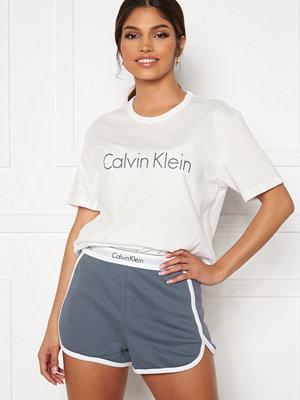Pyjamas & myskläder - Calvin Klein S/S Short Set SWY Pewter