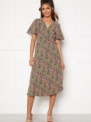 Vila Lovie S/S Wrap Midi Dress