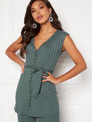 Happy Holly Mila vest top Green