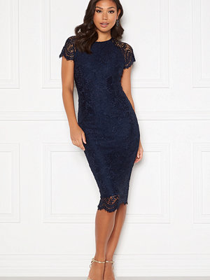 Ax Paris Scallop Lace Midi Dress