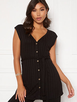 Happy Holly Mila vest top Black