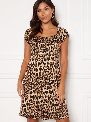 Happy Holly Tessan dress Leopard