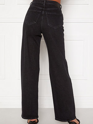 Only Juicy HW Black Wide Leg Jeans
