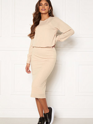 Happy Holly Stella o-neck midi dress