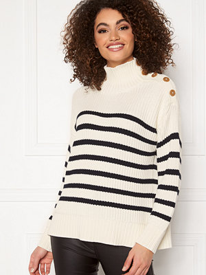 Gant Striped Turtleneck 113 Eggshell