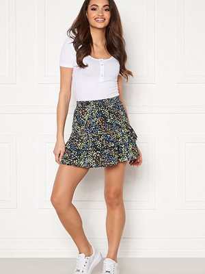 Jacqueline de Yong Mia Skirt Night Sky / Floral