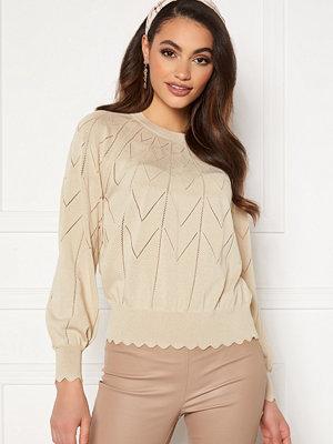 Tröjor - Object Noelle L/S Knit Pullover