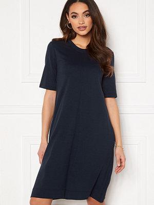 Gant A-Line Jersey Dress 433 Evening Blue