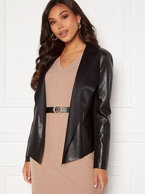 Happy Holly Vera PU jacket Black