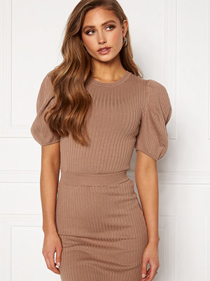 Bubbleroom Linnelle knitted top Nougat