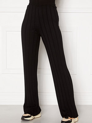 Happy Holly svarta byxor Anabelle Knitted pants
