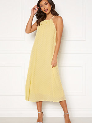 Y.a.s Bali Strap Midi Dress Pale Banana
