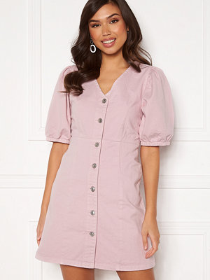 Pieces Gili SS V-Neck Dress Winsome Orchid