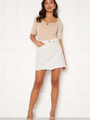 Levi's Hr Decon Iconic Bf Skirt 0010 Pearly White