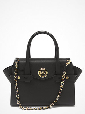 MICHAEL Michael Kors svart shopper Carmen Flap Satchel 001 Black