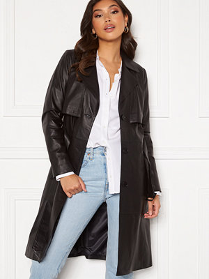 Jofama Jill Leather Trench Coat