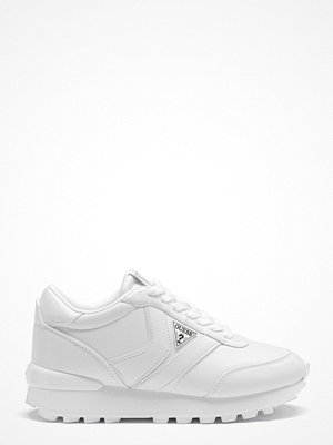 Guess Samsin3 Leather Sneakers White