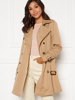 Chiara Forthi Moneglia Trench Coat Beige