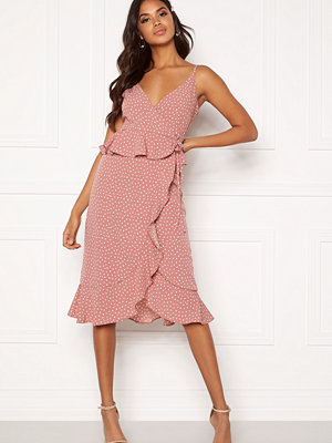 Bubbleroom Analisa dress Pink / White / Dotted