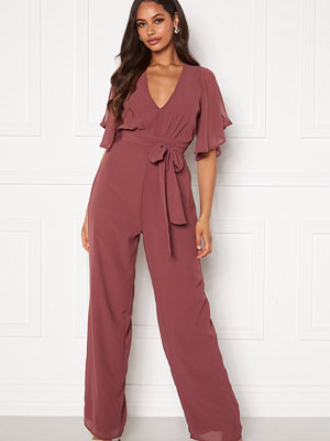 Bubbleroom Isobel jumpsuit Old rose