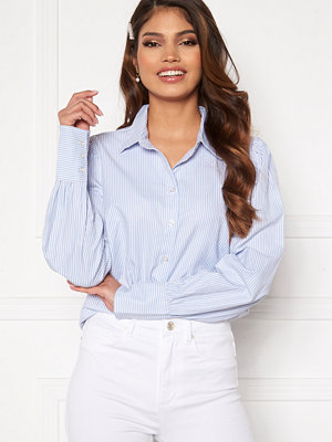 Happy Holly Isa puff sleeve shirt Striped