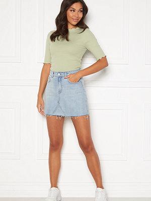 Bubbleroom Laney denim skirt