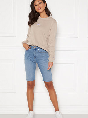 Bubbleroom Marnie denim shorts Light denim