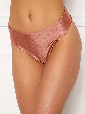 Bubbleroom Selina high waist bikini bottom Dark pink