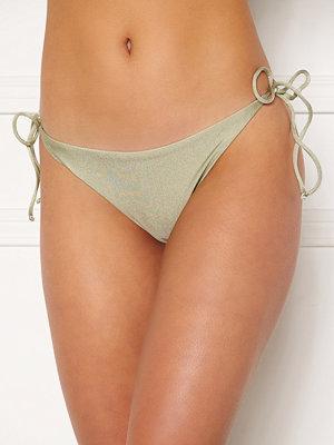 Bubbleroom Lora thin strappy bikini bottom Dusty green