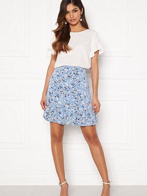 Pieces Gertrude MW Skirt Little Boy Blue