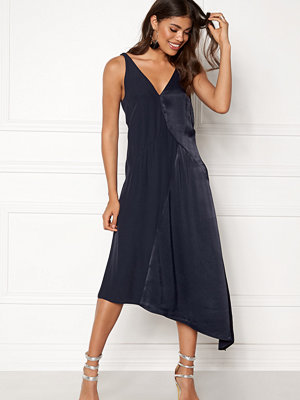 Dagmar Claire Midi Dress Navy