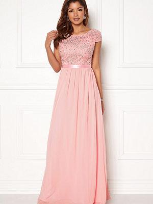 Chiara Forthi Viviere Sparkling Gown Pink