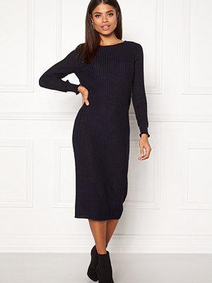 Y.a.s Seoul Lurex Knit Dress Carbon