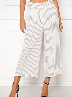 Stylein vita randiga byxor Bowery Pants Pinstripe