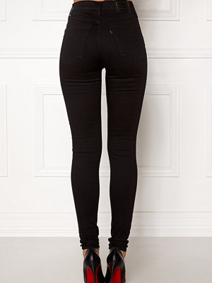 Levi's Milehigh Superskinny Jeans 0052 Black Galaxy