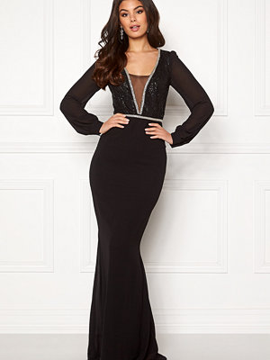 Make Way Emeline gown Black